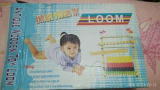 Wooden Toy LOOM 1set