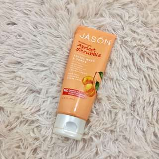 Jason Brightening Apricot Scrubble - 3/4 still left
