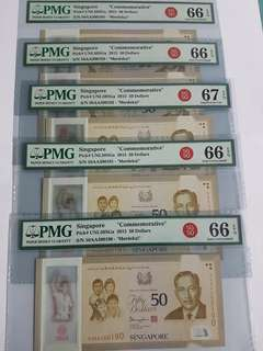 $50 SG 50 AA 10run all gem unc