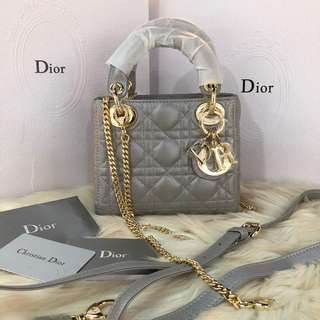 Lady Dior Bag Mini With Chain