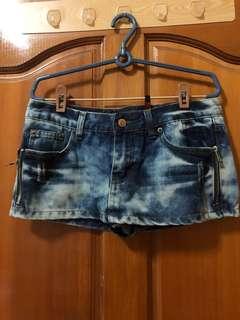🚚 褲裙 m號 牛仔褲裙