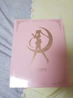 賣全新美圖M8美少女戰士限量手機連:CHOCOOLATE螺旋愛心月權杖透明雨傘(不散)