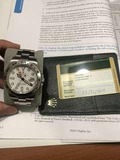 Rolex Explorer 42mm Polar 216570