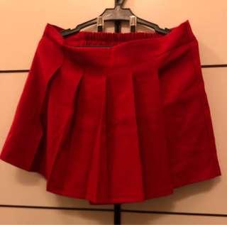 Red Skirt/Shorts