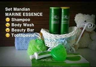(INSTOCKS AVAIL) Authentic Marine Essence Bar Soap, Bamboo Salt Nourishing Shampoo, Body Wash, Hair Conditioner & Toothpaste