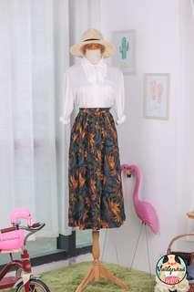 🍿 Vintage Midi Skirt VS1433