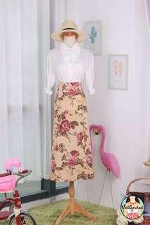 🍿 Vintage Midi Skirt VS1434