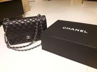 Chanel classic flap bag jumbo size