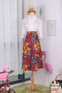 🍿 Vintage Midi Skirt VS1435