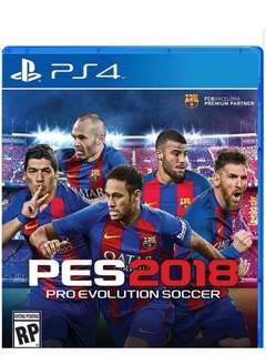 SELLING PES 2018 FOR THE BEST PRICE