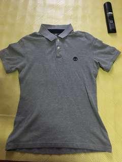 🚚 二手美品 timberland polo衫 灰色 美版XS/TP號