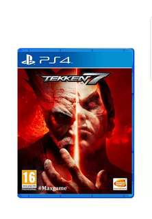 SELLING PS4 TEKKEN LATEST VERSION FOR THE BEST PRICE