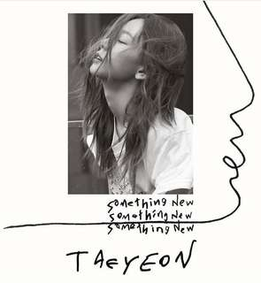 [PRE-ORDER] TAEYEON - SOMETHING NEW
