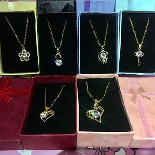 (3for250) Bangkok Gold Necklace