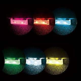 日本出品 , 車內椅底多色LED音樂燈