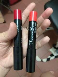 lipstick liptint lipbalm silkygirl warna poppy ruby