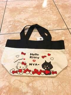 🚚 Hello kitty x NYA 帆布托特包#畢業兩百元出清