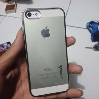 Iphone 5 (Silver 16Gb) BACA DESKRIPSI YAA
