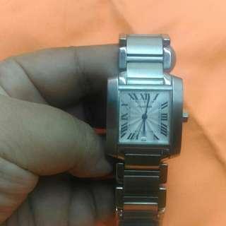 Jam tangan vintage Cartier