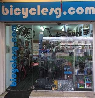 Our DCard Merchant - Bicyclesg.com AKA vert.sg