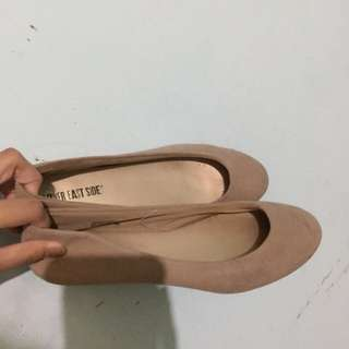 Lower East Side Nude Flat Shoes