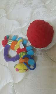 Soft Toys rattles