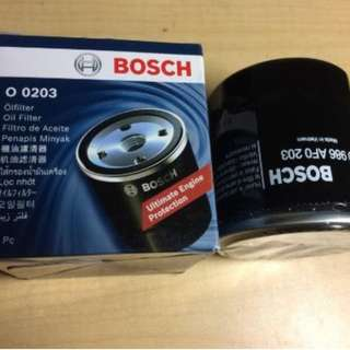 BOSCH OIL FILTER for PROTON SAVVY, HYUNDAI ATOS