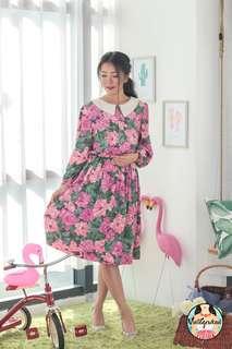 🍿 Vintage Midi Dress VD1330