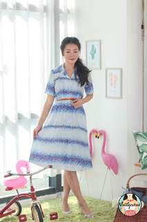 🍿 Vintage Midi Dress VD1331