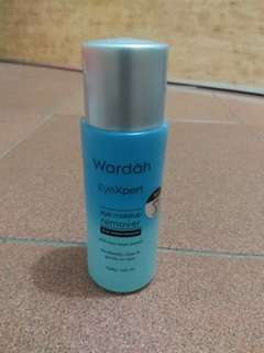 make up remover lip and eye wardah