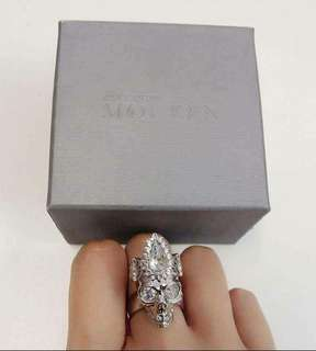 Alexander mcqueen ring brand new