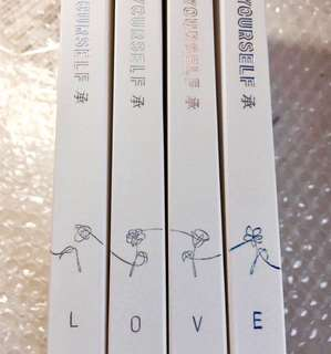 BTS LY HER 承 'LOVE' Album Book (Sealed)