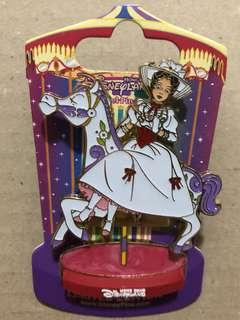 香港 迪士尼 徽章 Disney Pin 旋轉木馬 Mary Poppins