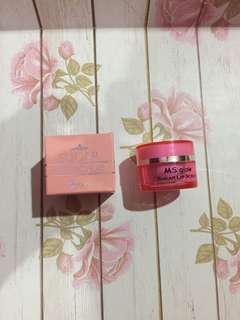 Lip scrub ms glow original baru sale