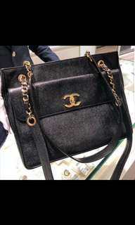 Chanel Caviar Tote Bag