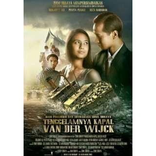 DVD Movie Indonesia Tenggelamnya Kapal Van der Wijck Indonesian Film Kaset Roman Drama Romance Old Era 1930 Makassar Padang