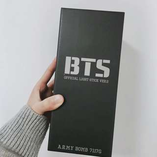 BTS Official Army Bomb Light Stick Ver.2