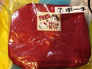 Hello Kitty &牛奶妹化妝袋