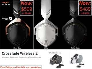 V-Moda: Crossfade Wireless 2