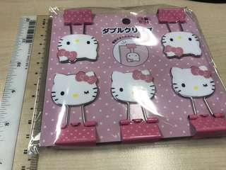Sanrio Hello Kitty (HK) Binder Clips | Paper Clips