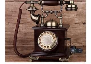 🚚 Antique Telephone vintage American phone