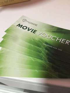 Shaw movie vouchers