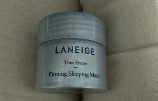 laniege sleeping pack time freeze mask masker