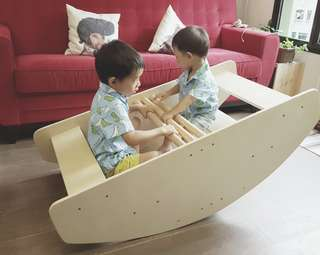 Step Up Step Down Rocking Boat