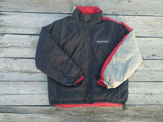 REVERSIBLE NAUTICA COMPETITION JACKET
