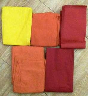 Red Orange Yellow Sandpaper