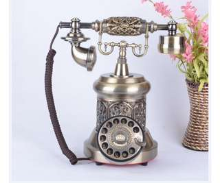 Vintage antique phone  European antique vintage