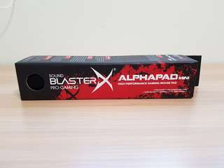 Sound Blaster Alpha Gaming Mousepad