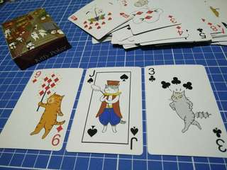 Cat Poker Cards