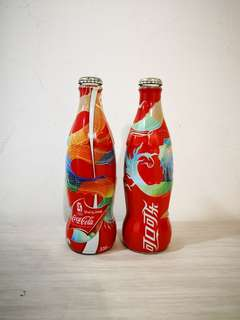 *Left 1 only* Coca-cola China Olympic 2008 collection